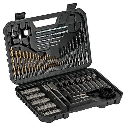 Bosch 103tlg. Bohrer- und Bit Set V-Line Titanium Box (Holz, Stein und Metall, Zubehör Bohr- und Schraubwerkzeuge)