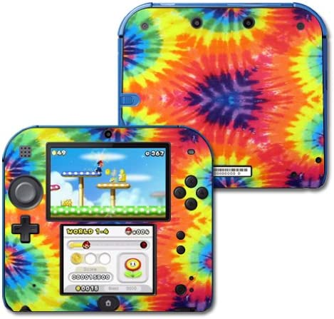 MightySkins Skin Compatible with Brand new Nintendo 2DS 2 70% OFF Outlet - Tie Prot Dye