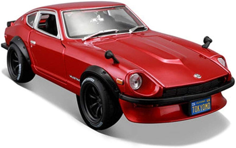 auténtico XJRHB Modelo de Coche Juguete 1 18 Modelo Modelo Modelo de simulación de Coche Modelo de Coche Deportivo Modificado, tamaño  23X10.5X6CM (Rojo Metal)  genuina alta calidad