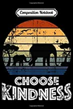 Composition Notebook: Choose Kindness Vintage Elephant in Africa Love Gift Journal/Notebook Blank Lined Ruled 6x9 100 Pages