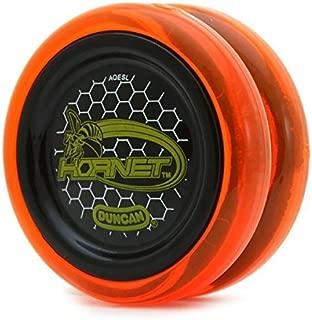 Hornet Duncan Orange with Black Cap Looping Yo Yo
