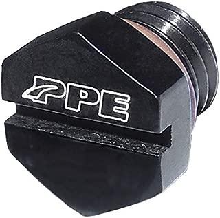 PPE AIR BLEEDER SCREW FOR FUEL FILTER HOUSING 2001 2002 2003 2004 2005 2006 2007 2008 2009 2010 2011 2012 2013 2014 2015 2016 CHEVY GMC 6.6L DURAMAX DIESEL BLACK - 5130811000