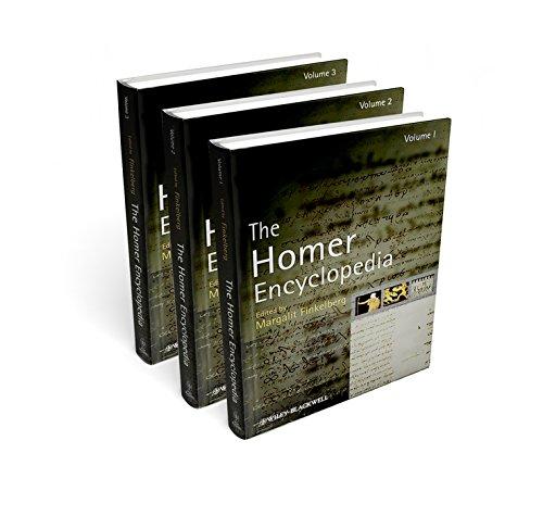 The Homer Encyclopedia: Three Volume Set