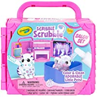 Crayola Scribble Scrubbie Pets, Beauty Salon Playset with Toy Pets