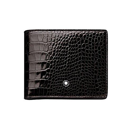 Montblanc MEISTERSTÜCK SELECTION BRIEFTASCHE 6 CC MIT ZUSÄTZLICHEM KARTENETUI No. 103406 103406 Unisex - Erwachsene Portemonnaies, na schwarz (mocha)