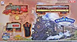 idreamtrader Classical Locomotive Remote Control Train Track Set w/Light & Sound, Environmentally friendly