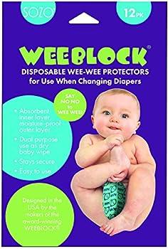 12-Pack Sozo Boys Disposable Weeblock