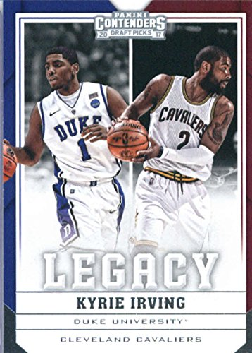 2017-18 Panini Contenders Drafts Picks Legacy #24 Kyrie Irving Cleveland Cavaliers/Duke Blue Devils Basketball Card