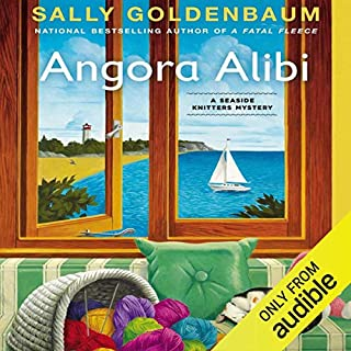 Angora Alibi audiobook cover art