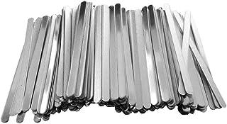 """fan pin dian zi 100 sztuk aluminiowych pasków do nosa """"zrób to sam"""" do wykonywania rozmaitych akcesoriów"""