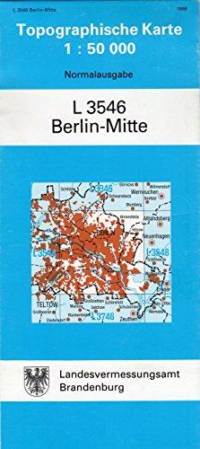 Berlin-Mitte (Topographische Karten 1:50000 (TK 50) Land Brandenburg (amtlich))