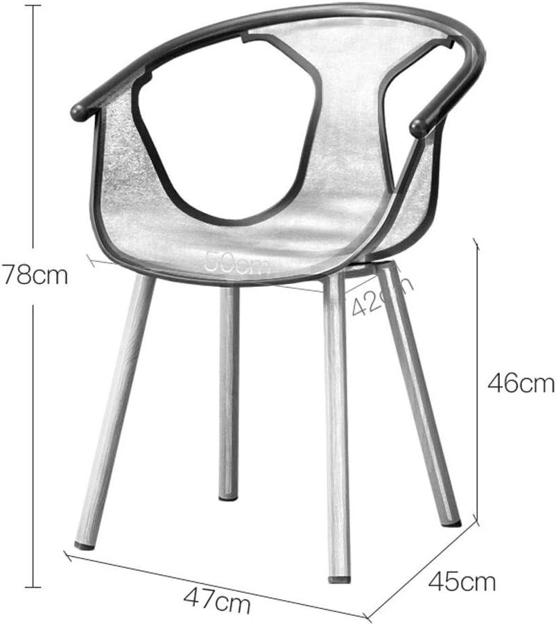 JU FU Chaise, moderne Minimaliste chaise, salle à manger chaise accueil, Creative plastique Tabouret, 3 couleurs disponibles @@ (Color : A) A