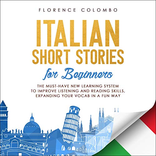 『Italian Short Stories for Beginners』のカバーアート