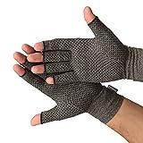 Medipaq Anti-Arthritis Handschuhe (Paar) - Bieten Wärme Und Üben Druck Aus Um Die Blutzirkulation Zu Erhöhen, Schmerz Zu Reduzieren Und Die Heilung Zu Fördern (1x Paar Mit Haftvermögen)