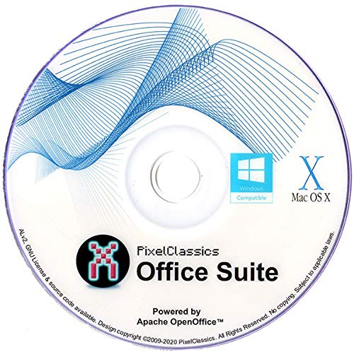 Office Suite Software 2020 Microsoft Word 2019 2016 2013 2010 2007 365 Compatible CD Powered by Apache OpenOffice for PC Windows 10 8.1 8 7 Vista XP 32 64 Bit & Mac -No Yearly Subscription PC/Mac OS X
