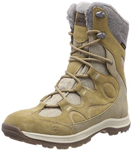 Jack Wolfskin Damen Thunder Bay Texapore HIGH W Trekking- & Wanderstiefel, Beige (Sandstone 5101), 39.5 EU