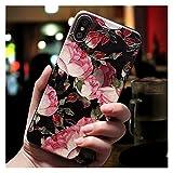 Glqwe Coque téléphonique à Motifs 3D Mignon 3D pour iPhone 12 Mini Pro Max 6 7 8 11 S Plus X S XR...