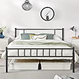 YAHEETECH 13 inch Queen Size Metal Bed Frame with Headboard and Footboard...