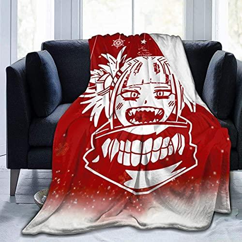 My Hero Academia-Himiko Toga - Manta suave y cálida con impresión digital, microforro polar, 152 x 127 cm