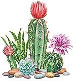Kit de pintura de diamante 5D DIY Cactus, kit de pintura de diamantes de imitación para manualidades, decoración del hogar, regalos de inauguración de la casa (30 cm x 30 cm)