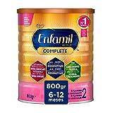 Enfamil Premium Complete 2 - Leche Infantil de Continuación para Lactantes Bebés de 6 a 12 Meses, 800 gr