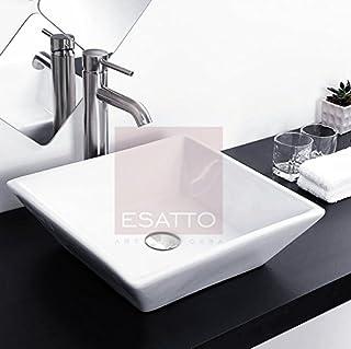 Esatto Econokit Maya Paquete de baño de lavabo cerámico