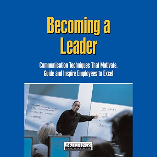 Becoming a Leader audiobook cover art