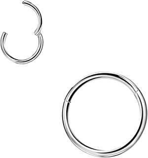 Best cartilage ring without ball Reviews
