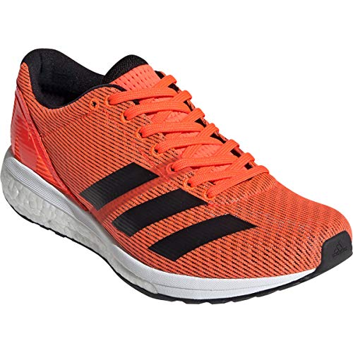 adidas Adizero Boston Boost 8 Womens Running Shoes - Orange-7.5