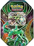 Pokemon Tins 2016 Trading Cards Best of Ex Tins Featuring Rayquaza Collector Tin