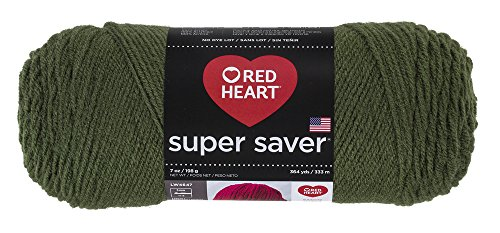 Red Heart E300.0406 Yarn, Solid - Medium Thyme