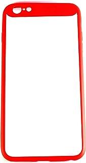 iPhone 6 Plus & 6S Plus Transparent Case Autofocus (Transparent Red)