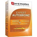 Forté Pharma Expert Autobronz | Complément alimentaire autobronzant | 20 Ampoules de 10 ml