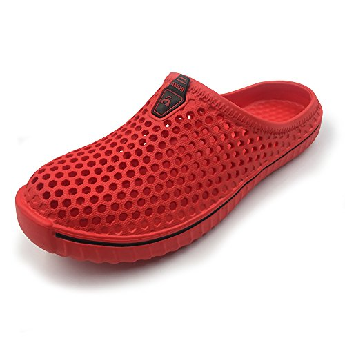 Amoji Garden Clogs Shoes House Slippers Indoor Room Sandals Outdoor Outside Shower Crocks Summer...