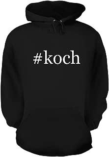 #koch - A Nice Hashtag Men's Hoodie Hooded Sweatshirt