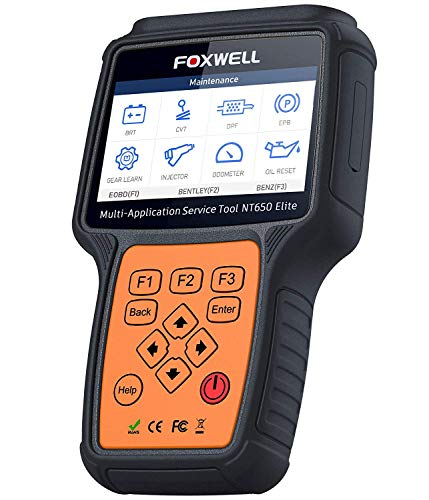 FOXWELL NT650 Elite Car OBD2 Scanner Automotive OBD II ABS...