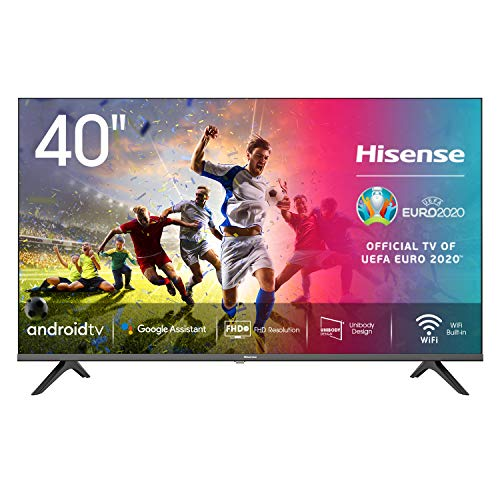 Hisense 40AE5600FA Smart TV Android, LED FULL HD 40 , Design Slim, USB Media Player, Tuner DVB-T2 S2 HEVC Main10, Bluetooth