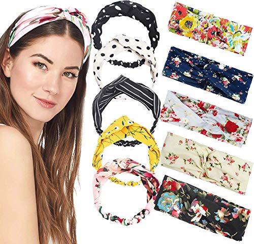 Headband Women Vintage Flower He...