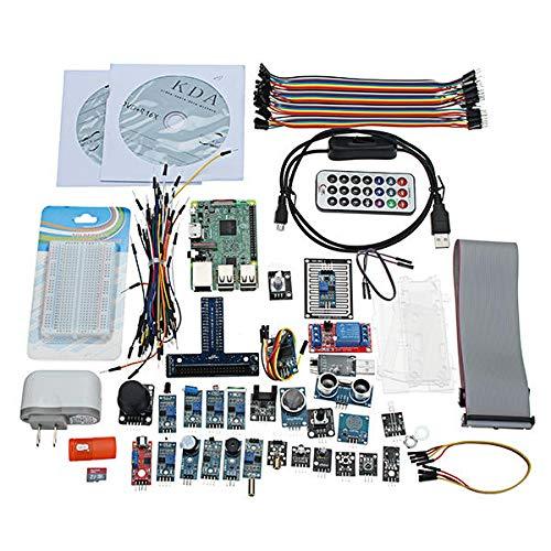 RLJJCS1163 DIY Supper Starter Sensor Kit v2.0 for RPI 3 Mannikin B Programación de Soporte
