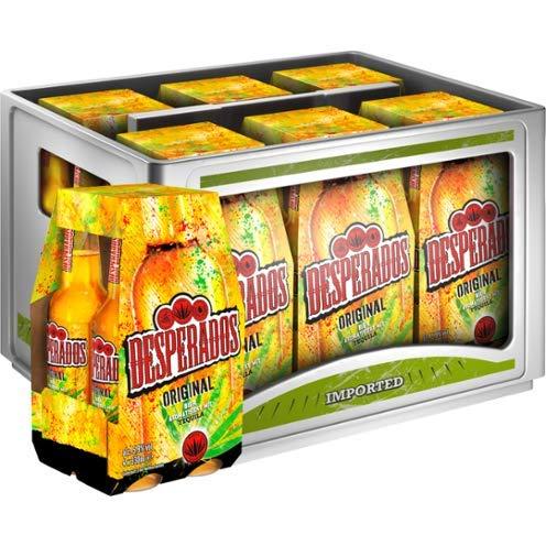 Desperados Red Tequila, Guarana, Cachaca 24x0,33l (Original Tequila)