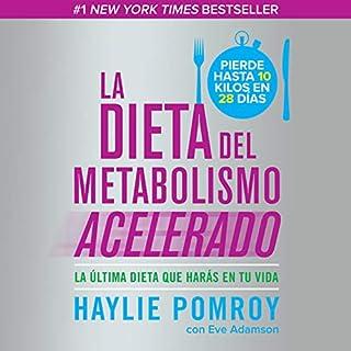 La dieta del metabolismo acelerado [The Accelerated Metabolism Diet] audiobook cover art