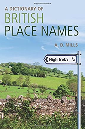 A Dictionary of British Place-Names