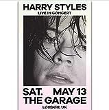 50x70cm sin Marco Harry Styles Rock Super Star Great Singer Wall Art Painting Print on Silk Canvas Poster Decoraci/ón del hogar