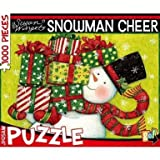 Susan Winget 'Snowman Cheer' Christmas Themed 1,000 Piece Jigsaw Puzzle