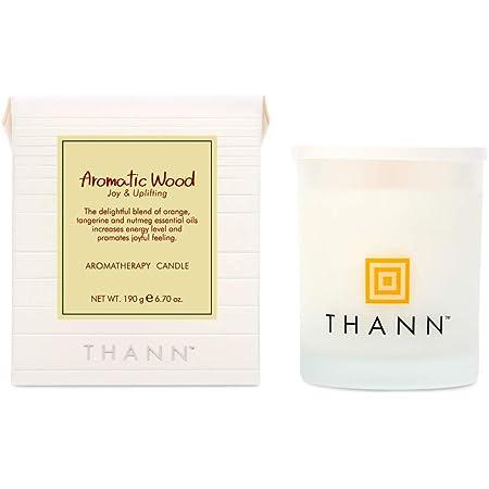 タン(THANN) タン アロマティックキャンドル AW(Aromatic Wood) 190g