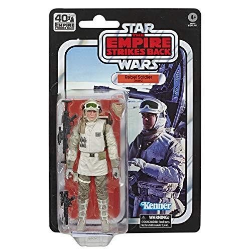 Star Wars 40ème Anniversaire - Figurine Black Series Soldat Rebelle (Hoth) 15 cm - Edition Collector