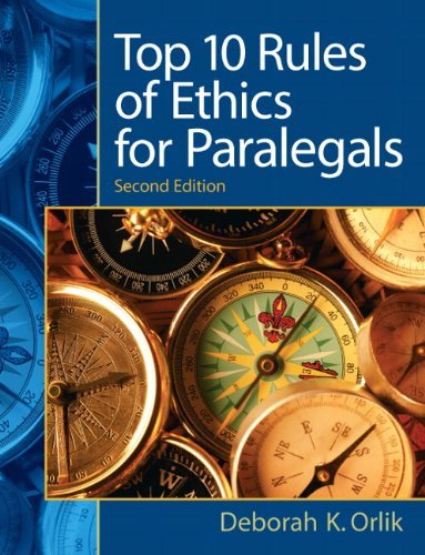 Price comparison product image Top 10 Rules of Ethics for Paralegals,  2 / e