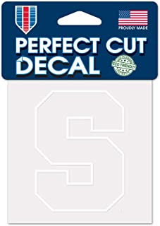 WinCraft NCAA Syracuse Orange 4x4 Perfect Cut White Decal, One Size, Team Color