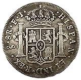 Réplica 1813 Español 8 Reales COPIAR MONEDA