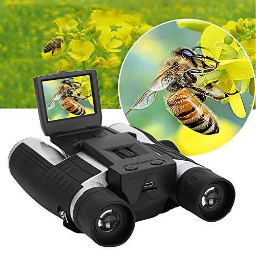 Binoculares HD Telescopio de cámara digital multifuncional con pantalla de 2 pulgadas para binoculares al aire libre
